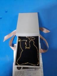Cordão de ouro Piastrini