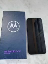 Celular Motorola One Azul ( usado)