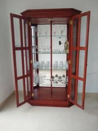 Cristaleira vidro bisotê