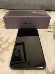 Iphone 8 plus preto 64gb! Novíssimo!