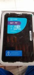 Vende-se tablet multilaser na caixa com documento e carregador