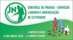 Título do anúncio:  Jn controle de praga e lavagem e higienização de estofados