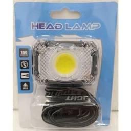 Lanterna de cabeça a Pilha, impermeável,LED Super Power COB,NOVA/ACEITO TROCAS