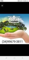Fossa séptica ecológica para seu sítio, fazenda, chácara