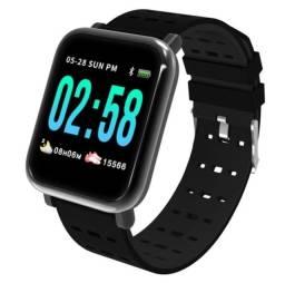 Smartwatch A6 R$: 75