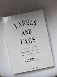 "Livro de Design Gráfico ""Labels and Tags"""