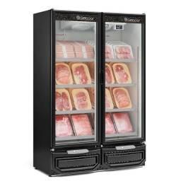 Venda mais carne com expositor de carnes embaladas - JM equipamentos BC