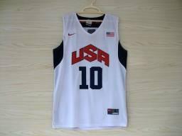 Camisa de basquete Estados Unidos
