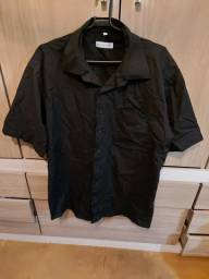 Camisa masculina preta