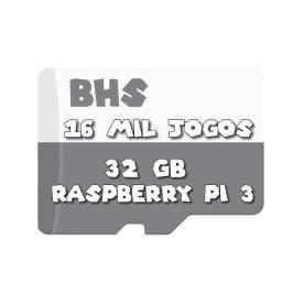 Cartão Microsd 32gb Raspberry Pi 3 Bhs 16 Mil J0g0s