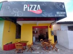 Pizzaria e restaurante.