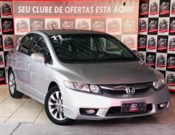 New Civic LXL 1.8 i-VTEC (Couro) (Aut) (Flex) 4P * Com Apenas R$ 7.000,00 de Entrada
