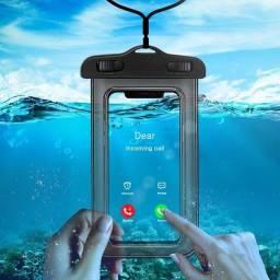 Capa impermeável para celular a prova dágua