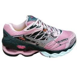 Tênis para Running Rosa Feminino / Forte e durável