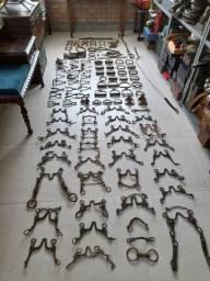 Título do anúncio: Coleção de itens de tropeiro e cavalaria