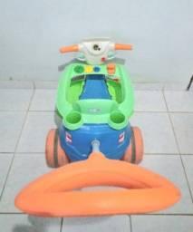 Triciclo Velo Baby 2 em 1