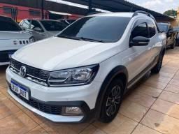 Título do anúncio: Vw Volkswagen Saveiro Cross 2019. 1.6 MSI Flex completa impecável
