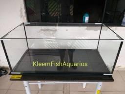 Título do anúncio: Modelo Aquário 100 x 50 x 40 KleemFishAquarios