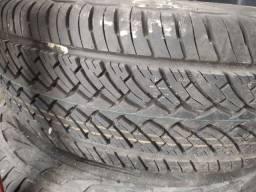 Dois Pneus + roda Caminhão NOVÍSSIMOS