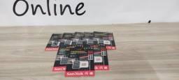 Título do anúncio: Cartão de memória SanDisk Extreme com adaptador SD64GB.
