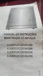Lava-louças GE inox