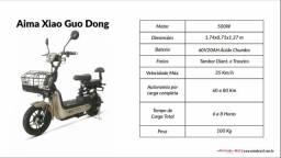 Scooter elétrica Xiao Guo Dong