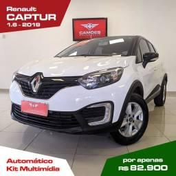 Título do anúncio: Renault CAPTUR LIFE 16A
