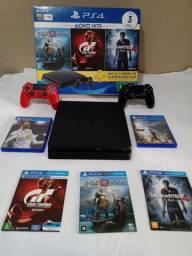 PS4 seminovo na caixa original