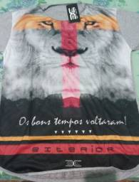 Camisas masculinas long LINE, 60 reais