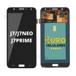 Tela Frontal Display Lcd Galaxy J2/J4/J5/J6/J7/J8
