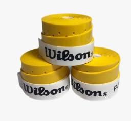 Over Grip Wilson Profile Perfurado 2021 - Cor Amarelo - 10 Unidades