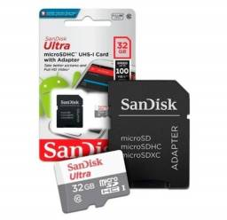 Cartão de memoria SanDisk Ultra 32GB 100MB/S