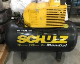 Título do anúncio: Compressor de Pistão ? Mundial MSL 10 ML/175 220V ? Monofásico