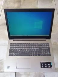 Notebook Lenovo 330, aceito cartão