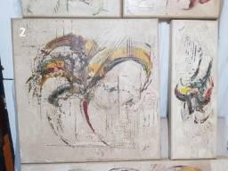 8 Quadros abstratos (Coleção inteira pelo valor anunciado)