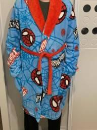 Roupão infantil Homem Aranha