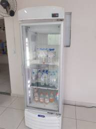 Expositor vertical para congelados metal frio