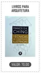 Vendo livro técnicas de construção ilustradas