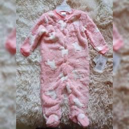 Macacão Rosa Unicórnio Baby Gear