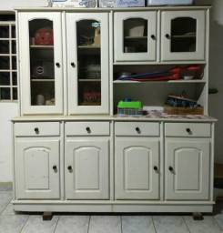 Armário de Cozinha Madeira Rústica
