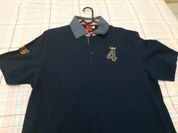 Camisa Pollo Collection Azul Tam. G