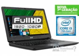 Notebook Acer Core i3-7100U 4GB 1TB Tela Full HD