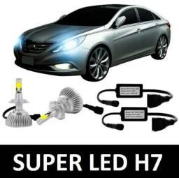 [Promoção] Lampadas Super LED - H7 Par