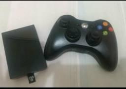 Hd 250 + controle sem fio xbox 360