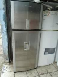 Geladeira Brastemp Inox 480 L Dispenser de Agua na Porta Frost Free c/Entrega Gratis