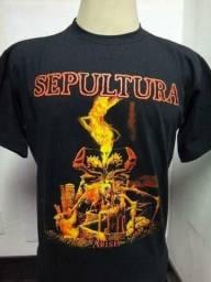 Camisa Sepultura Nova Tamanho M