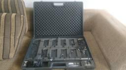Hardcase para pedais behringer muito top com fonte e cabos