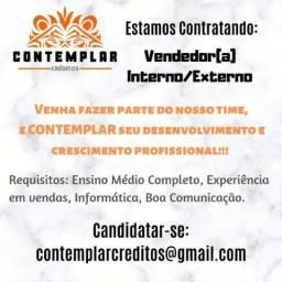 Vendedor Interno/Externo - Contemplar Créditos - Aparecida de Goiânia