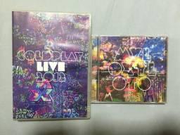 Coldplay Live 2012 DVD e CD + Mylo Xyloto CD