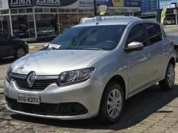 Renault Sandero Expression 1.6 Prata, Único Dono, Com Apenas 13.000 km Rodados! - 2017